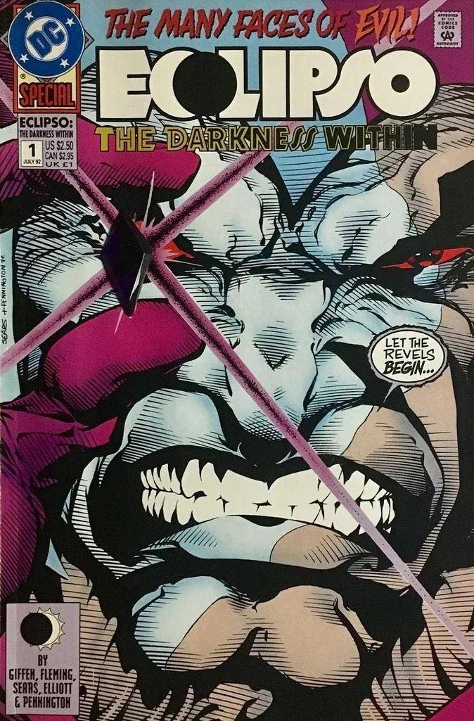 Eclipso: The Darkness Within # 1
