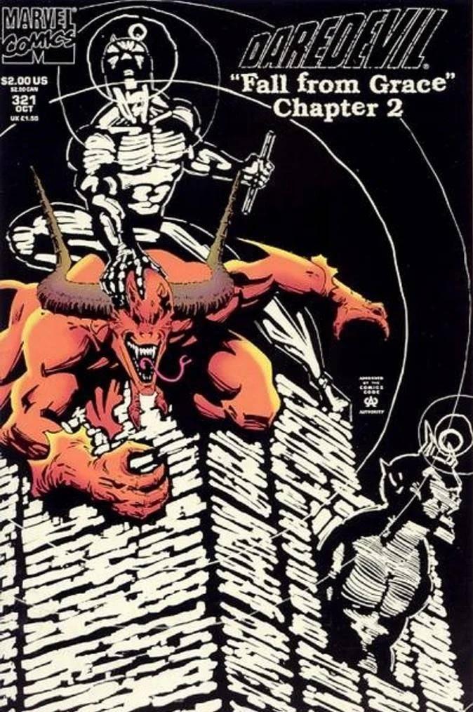 Daredevil #321 de 1993 #MESDELOS90