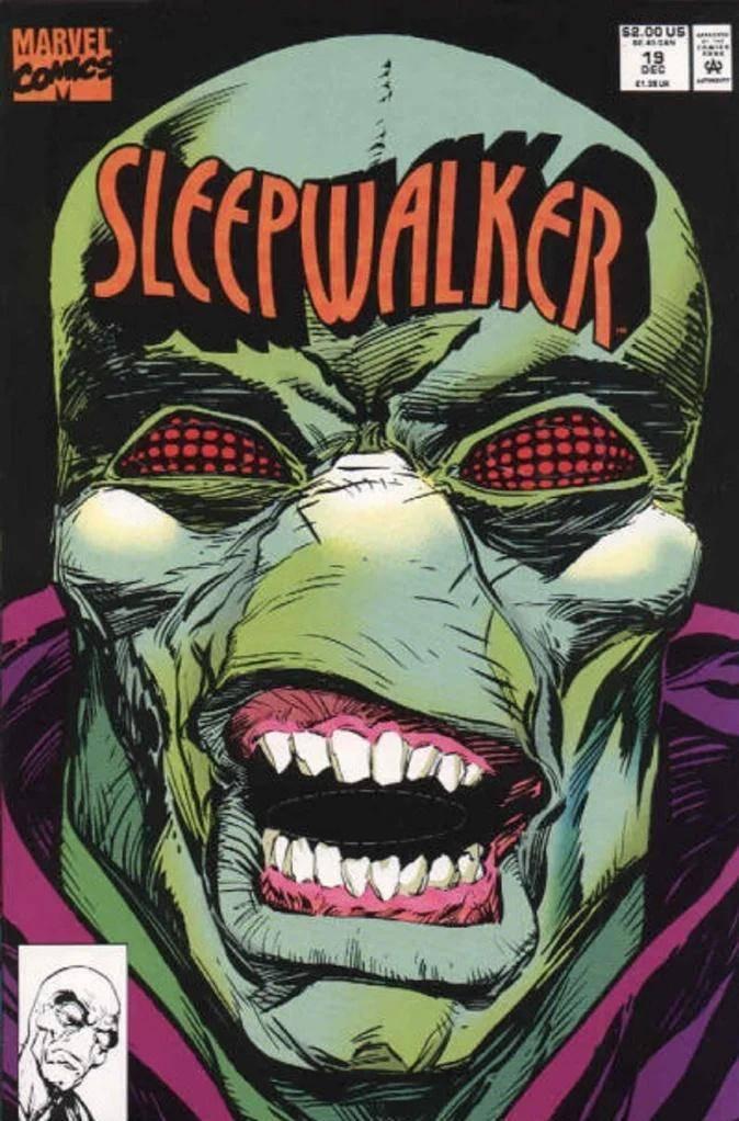 Sleepwalker #19 de 1991 #MESDELOS90