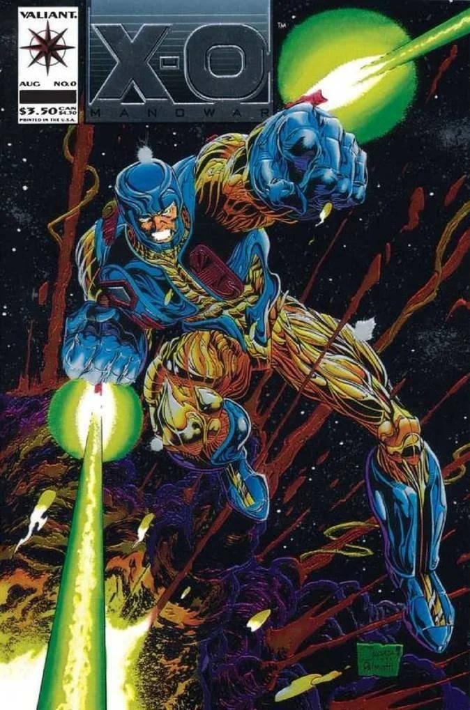 X-O Manowar #0 de 1993 #MESDELOS90