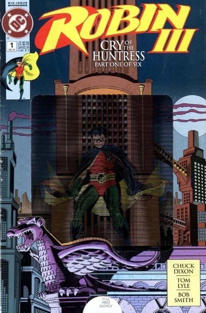 Robin III: Cry of the Huntress de 1992-1993 #MESDELOS90