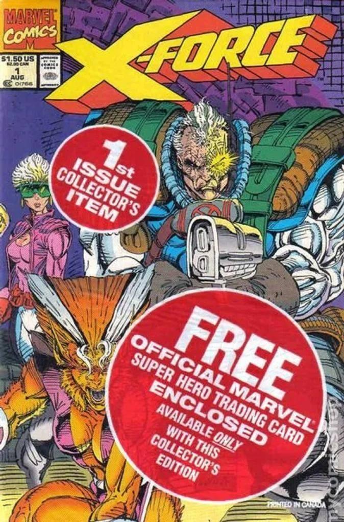 X-Force #1 de 1991 #MESDELOS90
