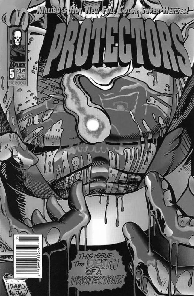 Protectors #5 de 1993 #MESDELOS90