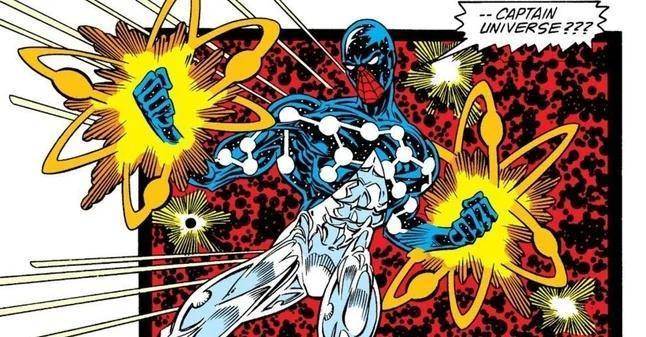 Spider-Man Captain Universe