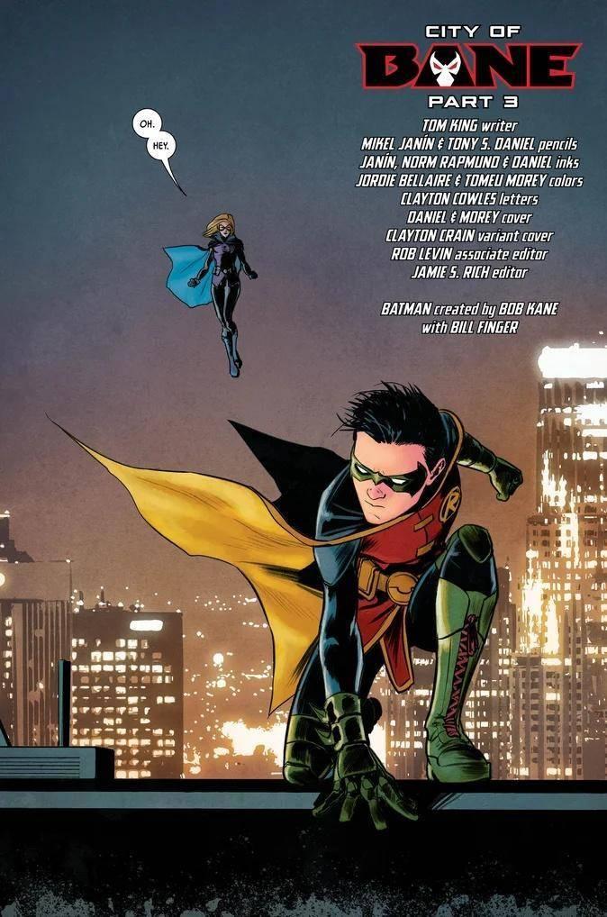 Preview Batman #77 (1) city Of Bane