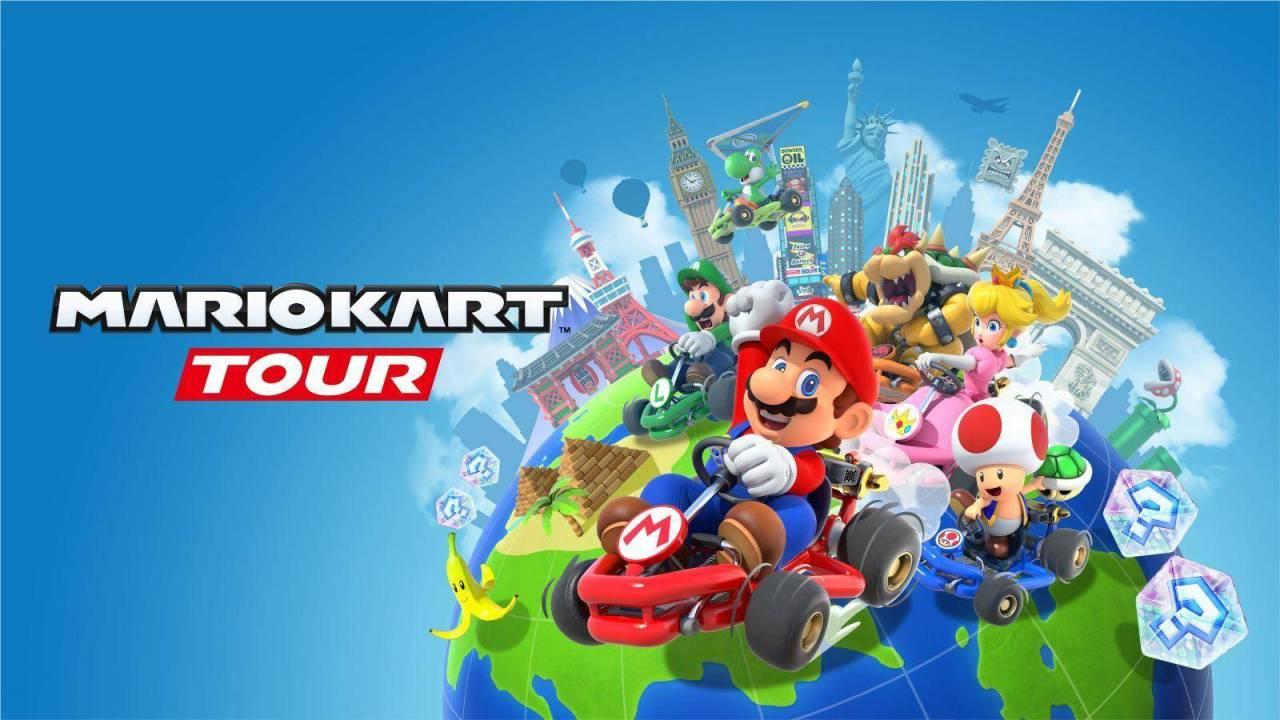 Mario Kart Tour llegará muy pronto