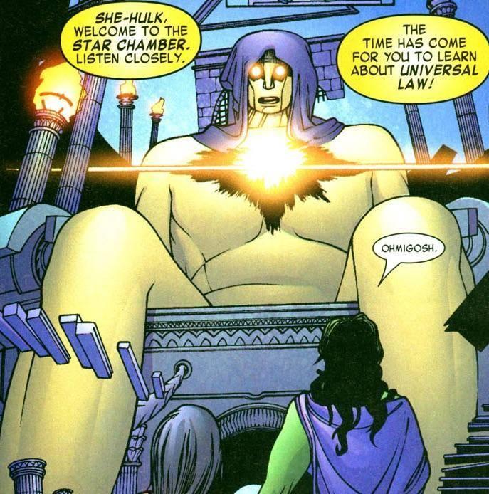 She-Hulk es delegada del tribunal viviente