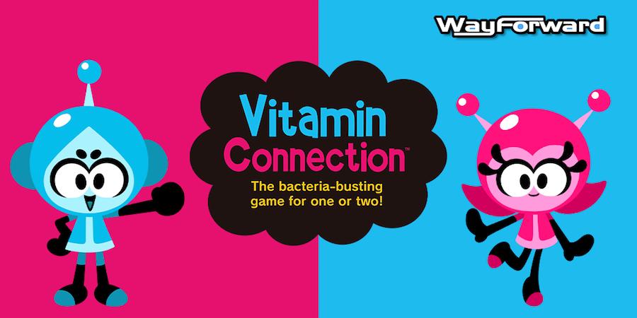 Diversión microscópica con Vitamin Connection para Nintendo Switch