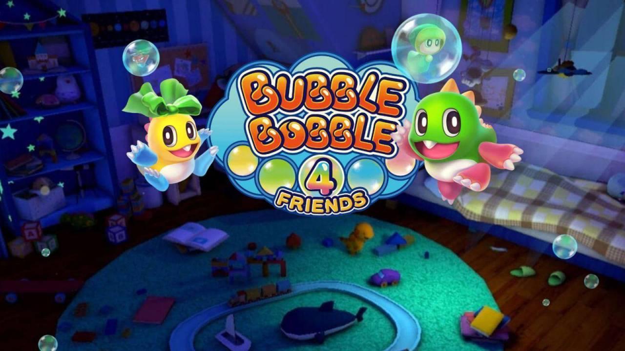 Bubble Bobble 4 Friends es anunciado para Nintendo Swich