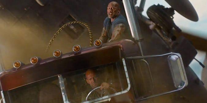 Hobbs es más fuerte que el Capitán América
