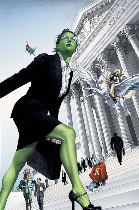 She-Hulk es una excelente abogada