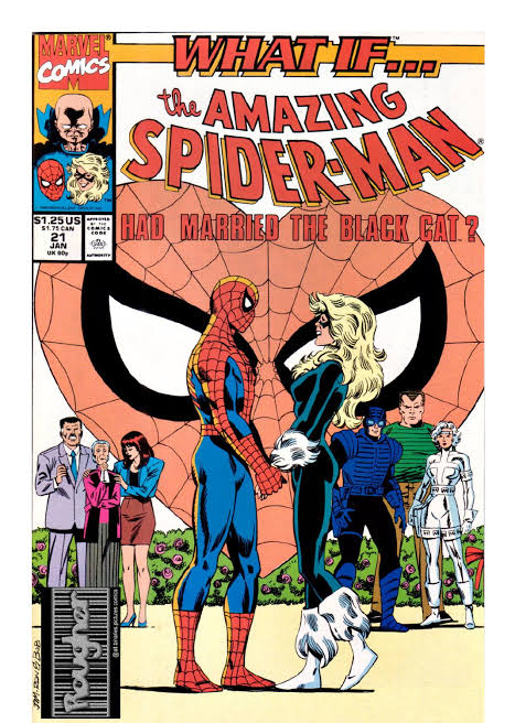 What If...? Vol 2 #21 (1991) Spider-Man & Black Cat