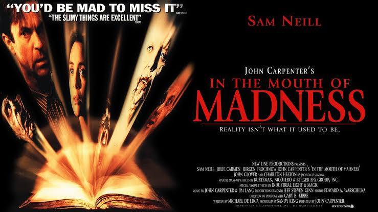 In the Mouth of Madness (1994) (películas de terror)