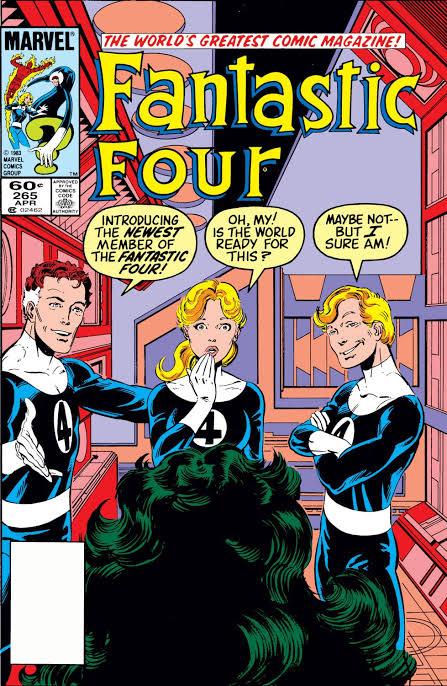 She-Hulk fue el quinto elemento de los Fantastic Four