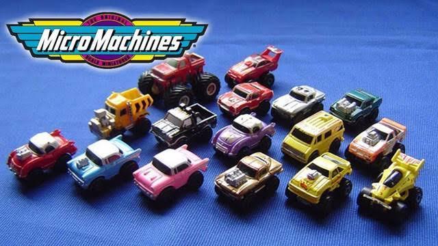Micro Machines (juguetes de los 90)