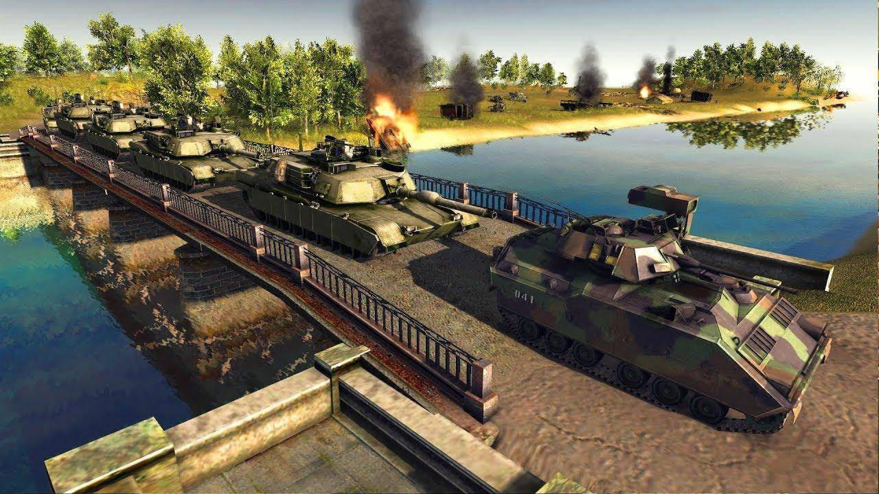 Tanques en Men of War: Assault Squad 2 Cold War Expansion