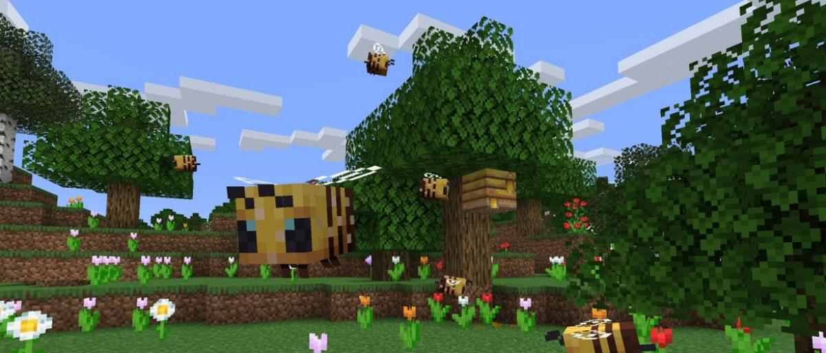 La versión de Minecraft para Java ahora tiene abejas