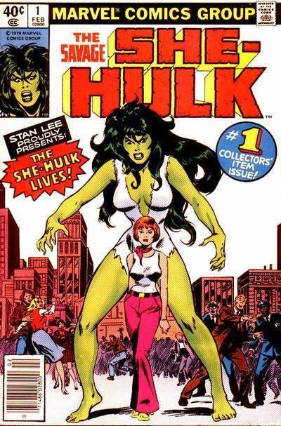 She-Hulk fue creada para conservar una marca comercial.