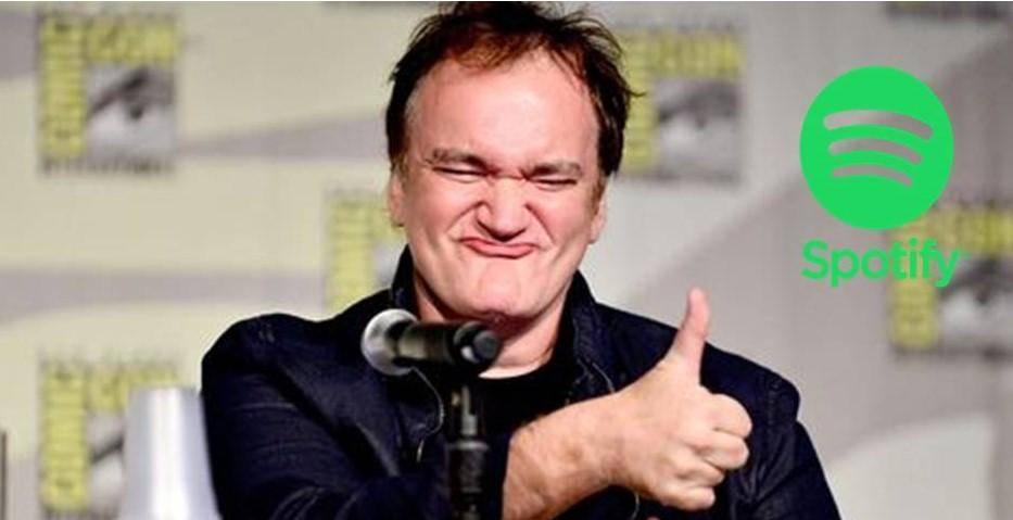 Tarantino creó una playlist en Spotify ¡Y es increíble!