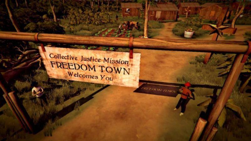 A las afueras de Freedom Town