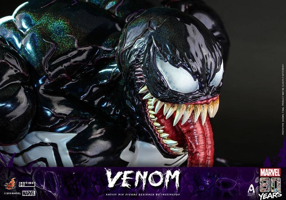 Conoce la figura de 80° aniversario de Venom diseñado por INSTINCTOY.