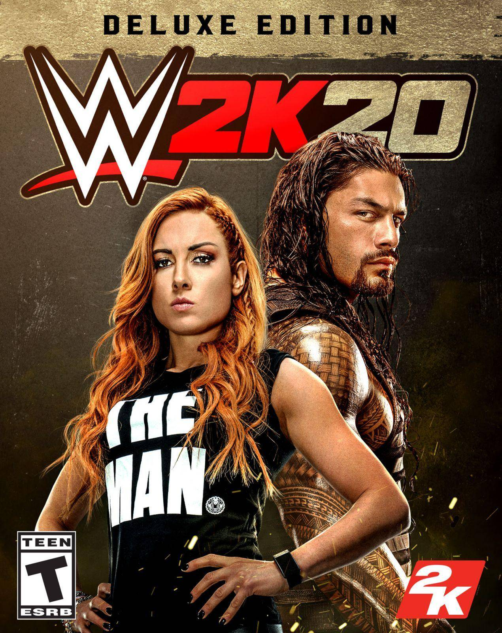 2K muestra la portada oficial de WWE 2K20 1