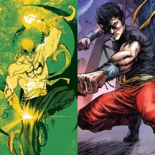 Iron Fist & Shang-Chi
