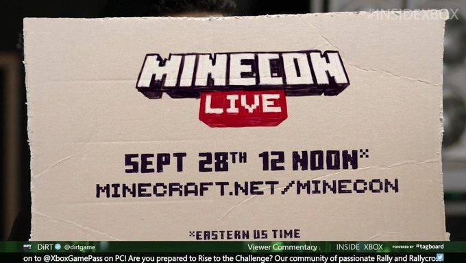 Inside Xbox, Minecon