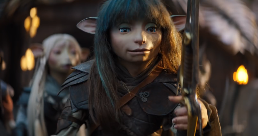 Rian protagonista de The Dark Crystal: Age of Resistance