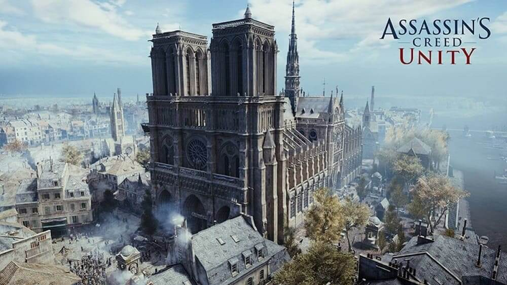 Catedral de Notre-Dame en Assassin's Creed