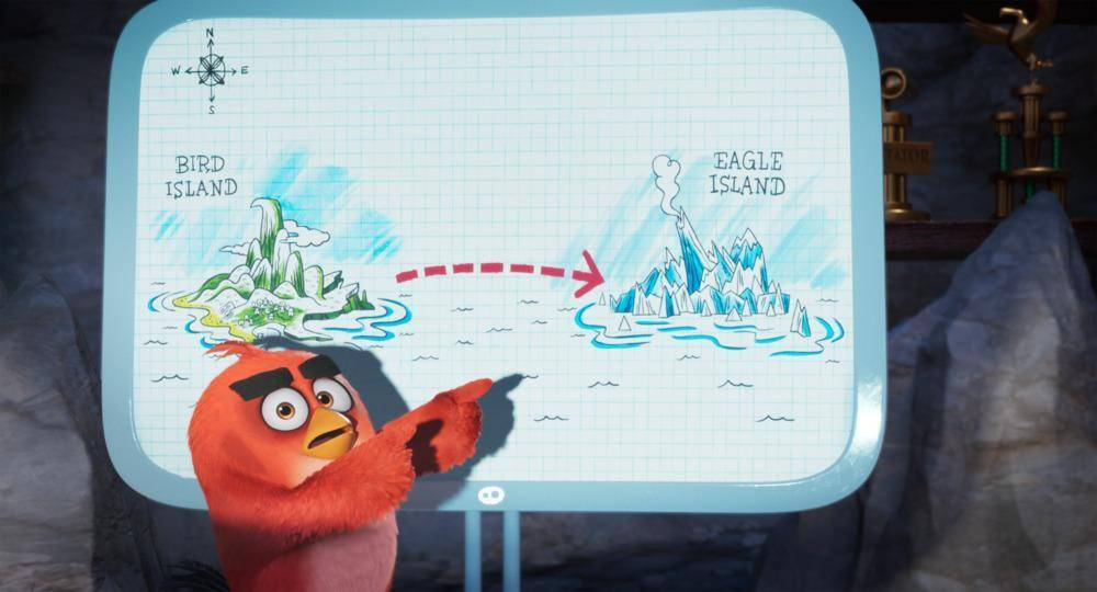 Angry Birds 2, Islas.