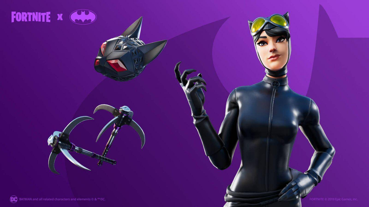 Catwoman-Fortnite