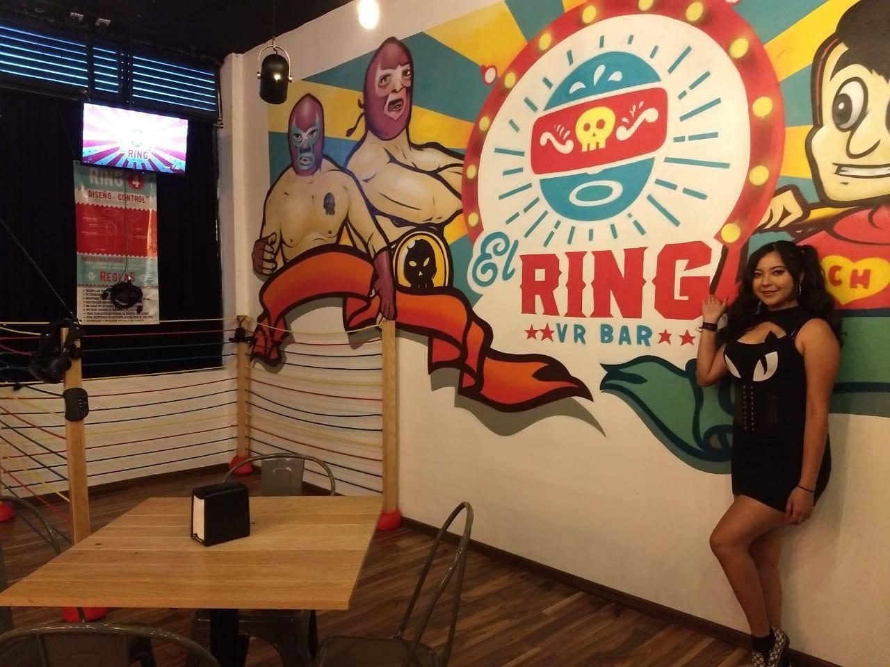 El ring VR Bar