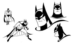Batman serie animada sketch