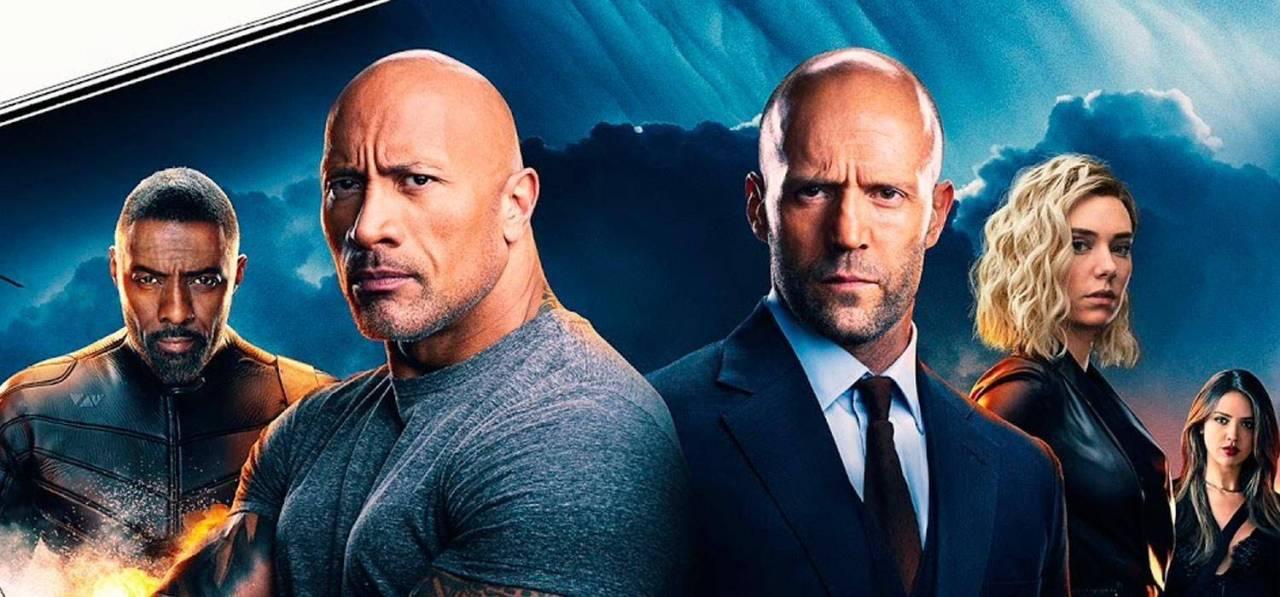 Hobbs and Shaw, película spin-off de Rapidos y Furiosos. Lejos de Vin Diesel