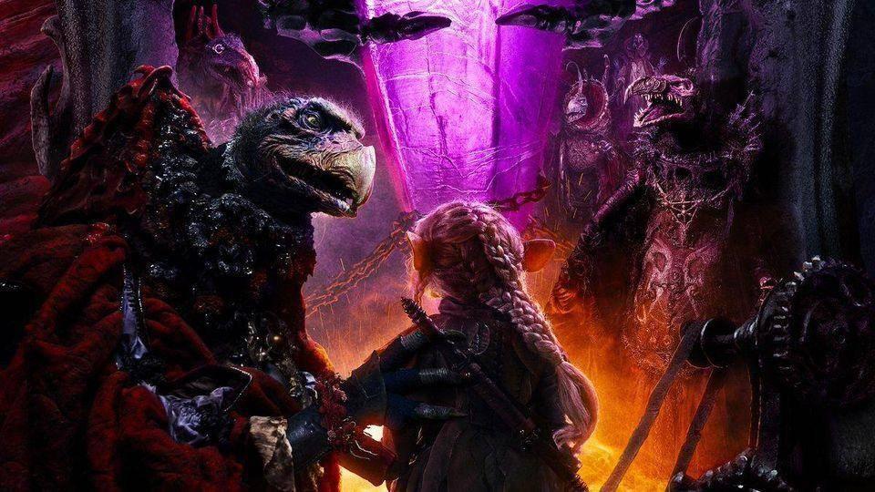 Skekses y Gelflings en The Dark Crystal: Age of Resistance