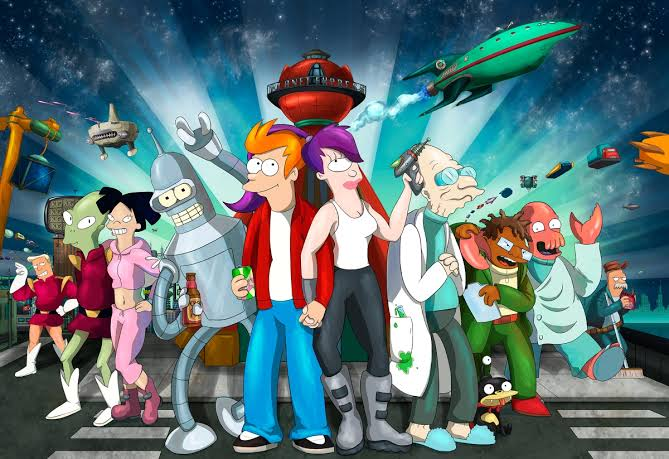 Como Futurama desarrollo a sus personajes