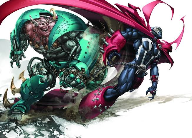 Spawn vs. Overkill by Clayton Crain