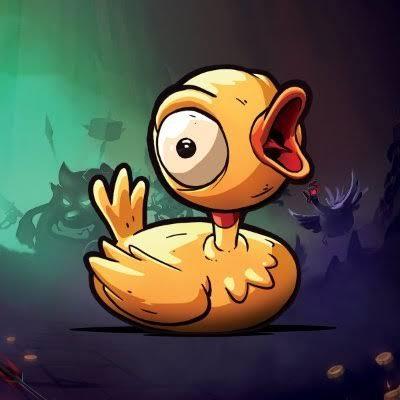 Munchkin golden duck