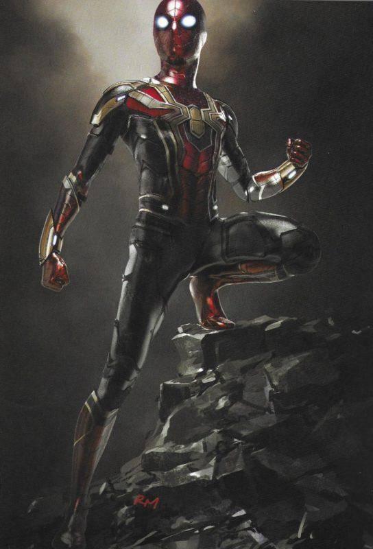 Spider-Man: Lejos de casa, se muestran nuevos artes conceptuales 3