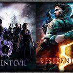 Capcom RE5 y RE6 (Póster)