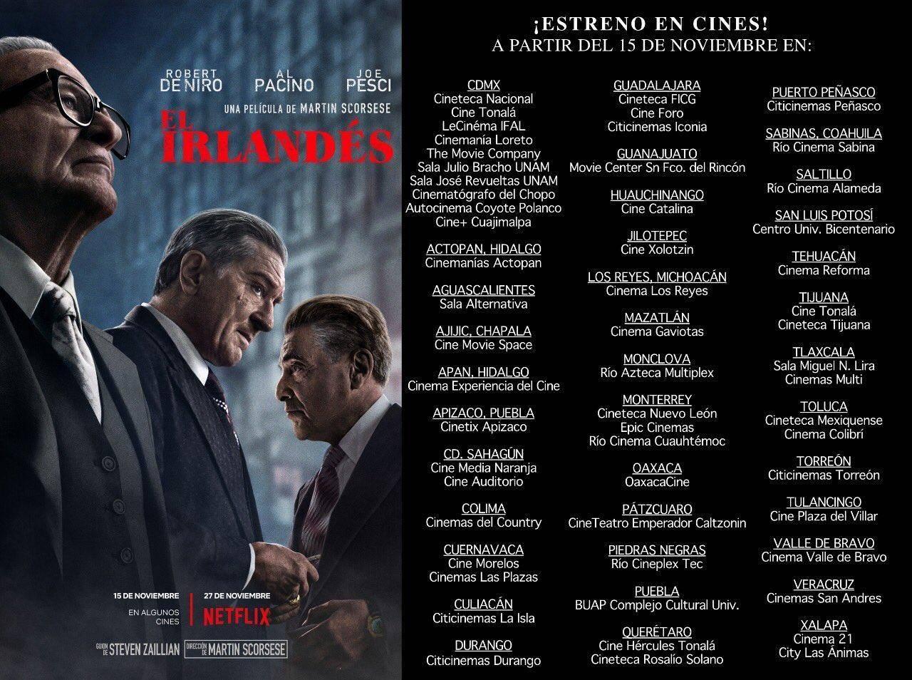 The Irishman (Cines)