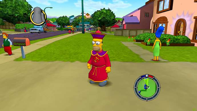The Simpsons: Hit & Run (Los Magios)