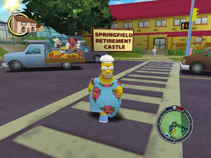 The Simpsons: Hit & Run (Homero)