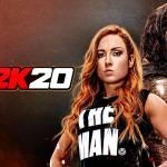 WWE 2K20 Cover (Becky Lynch & Roman Reigns)