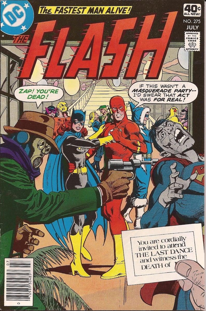 Flash vol. 1 #275-284 (1979)