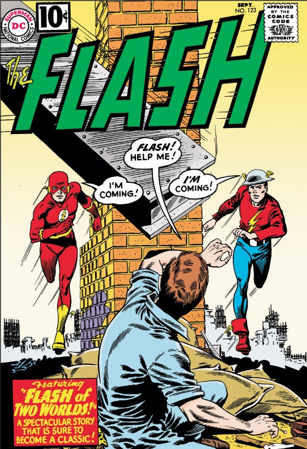 Flash #123 (1961)