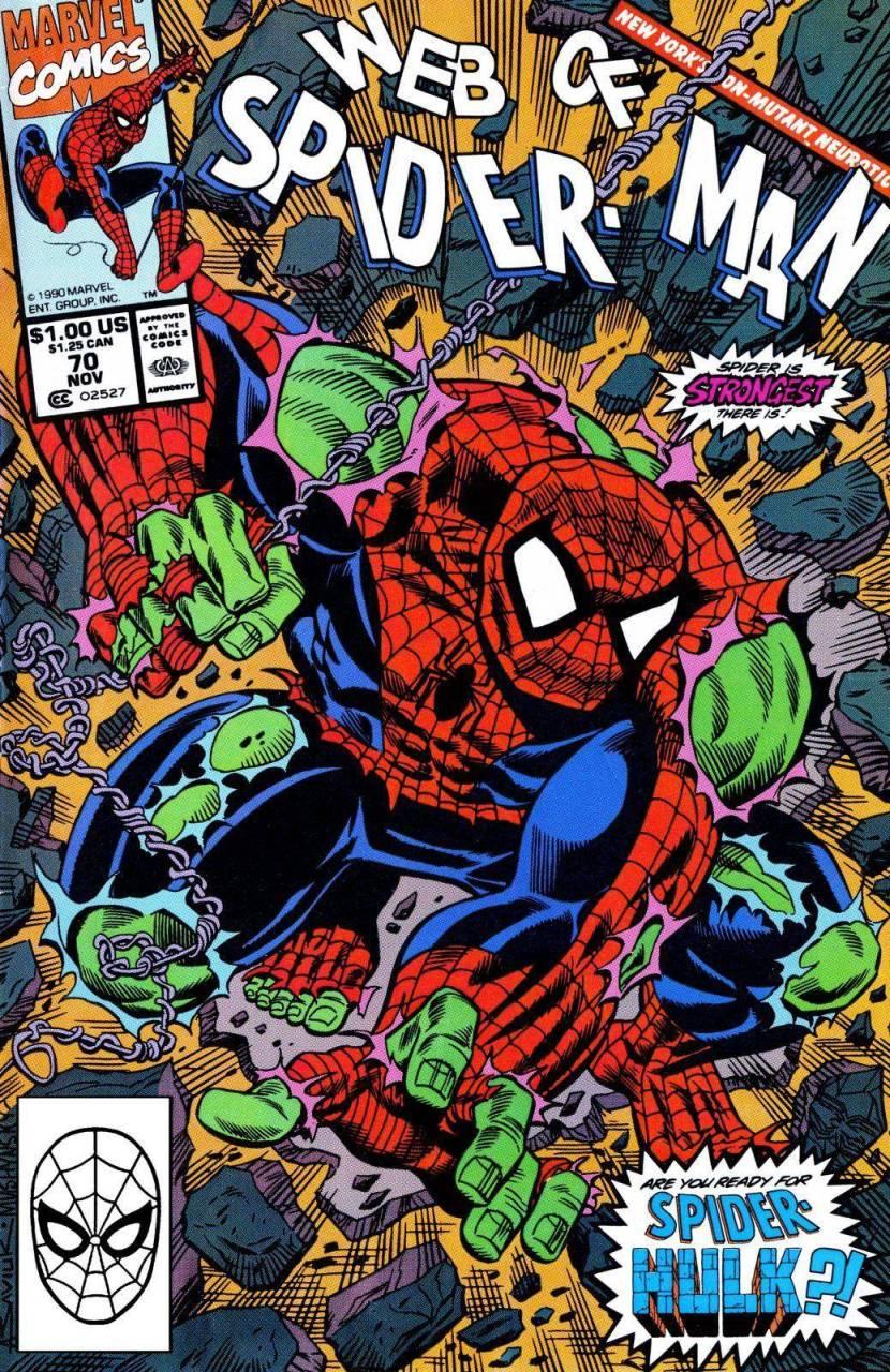 Web of Spider-Man #70 (1990)