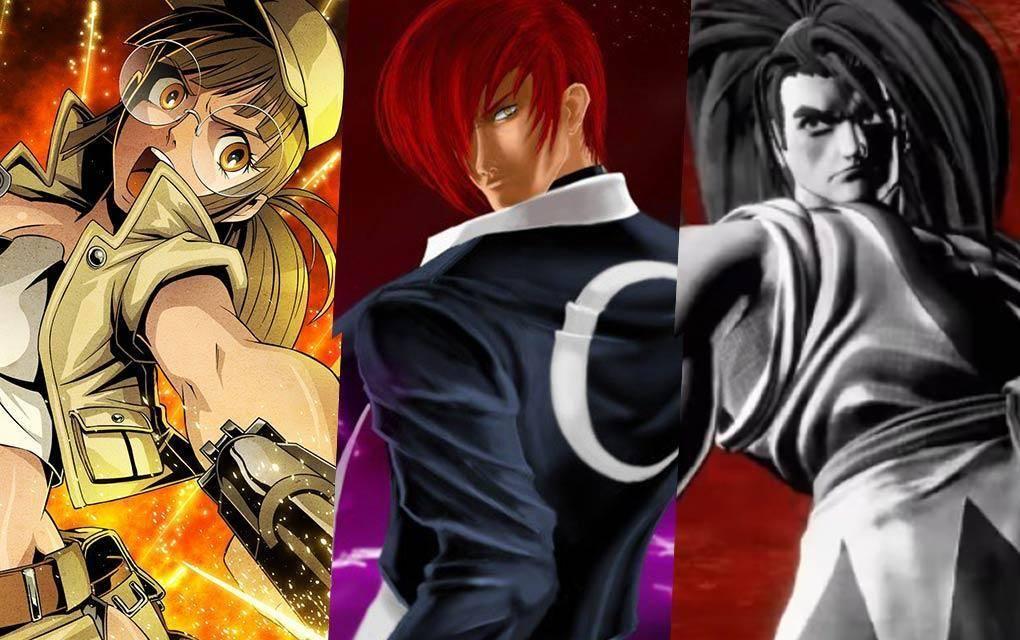 Metal Slug, The King Of Fighters & Shodown Samurai (SNK)