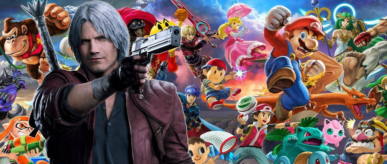 Dante, Smash Bros, Devil May Cry